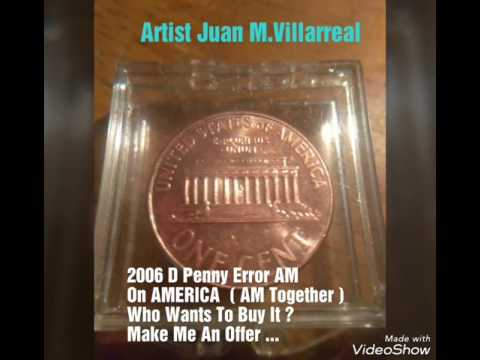 2006 D Lincoln Penny Error ( AM )