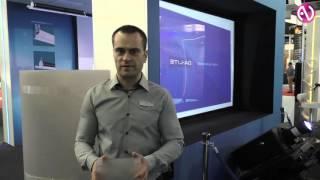 экраны обратной проекции Da-plex Semi-rigid на выставке ISE 2016