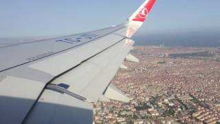 Taking Off Over Istanbul - Airbus A320