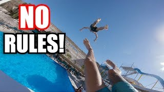 MEXICAN WATERPARK MADNESS! (Crazy Flips!)