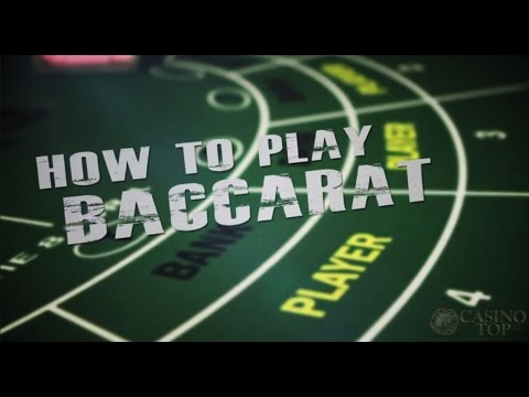 How Do U Play Baccarat
