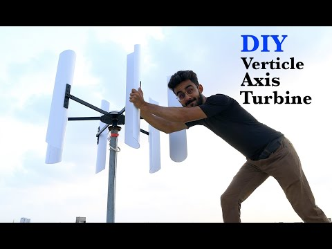 How to make a Vertical Axis Wind Generator (Is it worth that???)