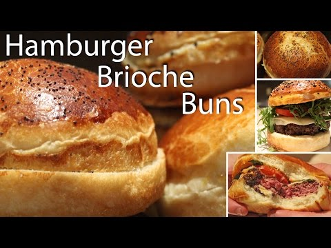 Hamburger Brioche Bun Recipe