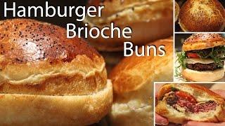 Hamburger Brioche Bun Recipe