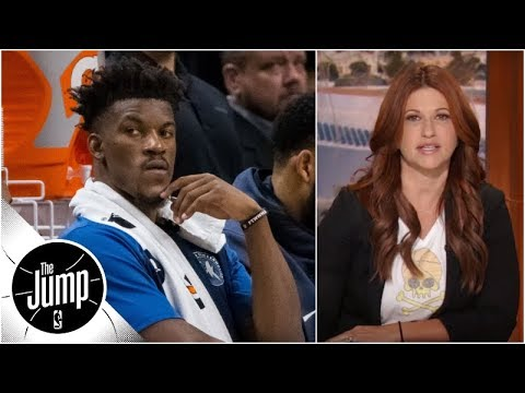 Jimmy Butler texted Rachel Nichols to explain sitting out vs. Jazz | The Jump