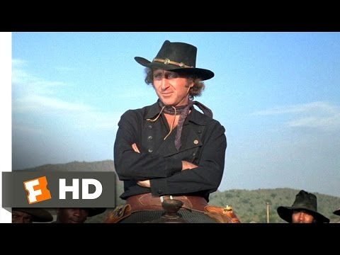 Blazing Saddles 810 Movie   Applause for the Waco Kid 1974 HD