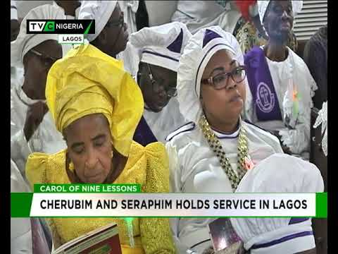 Cherubim and Seraphim holds service in Lagos