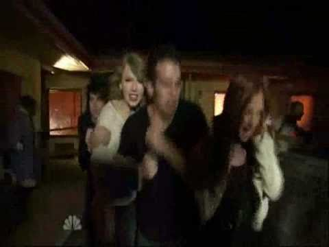 Taylor and Her Band Scared