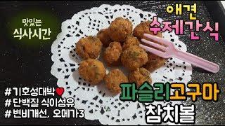 [COOK DOG] 강아지 수제간식 만들기 - 파슬리 …