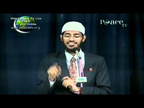 dr zakir naik ,is taking red meat can cause cancer.avi