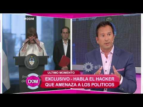 El hacker que amenaza a políticos se comunicó con El diario de Mariana