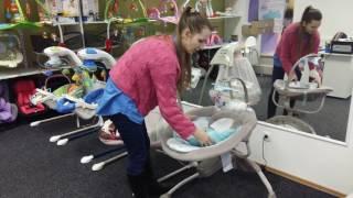 Качели для новорожденных Fisher Price Cridle Swing