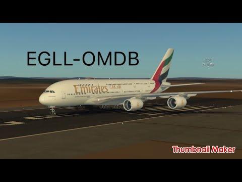 Infinite Flight | Heathrow(London)-Dubai(UAE)|New Update !!