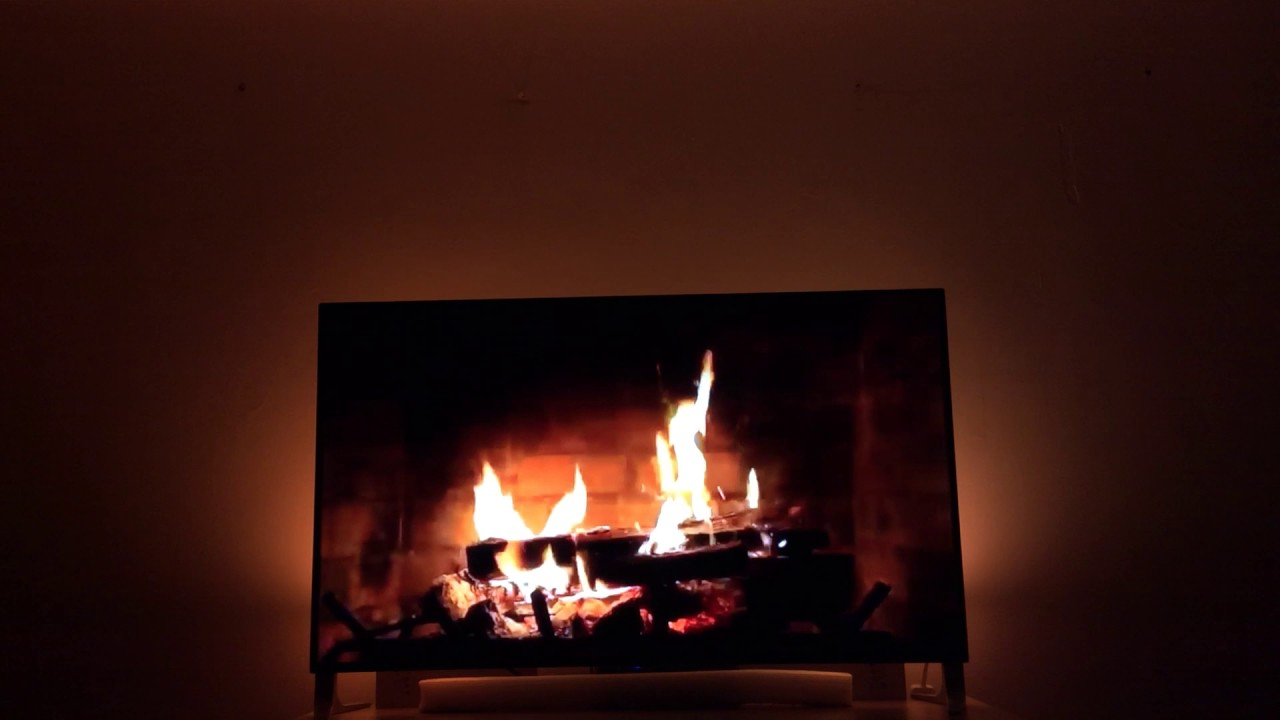 huetube philips hue youtube ambilight wanna have a fireplace