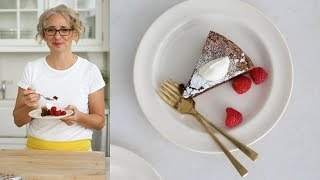 Flourless Chocolate-Almond Cake- Everyday Food with Sarah Carey