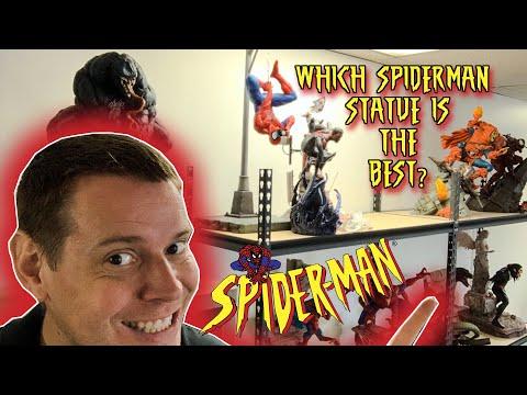 BEST SPIDER-MAN STATUE COUNTDOWN!