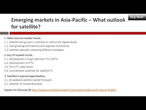 Emerging Markets in Asia-Pacific - Telecom Markets, TV Market Report at RnR Market Research