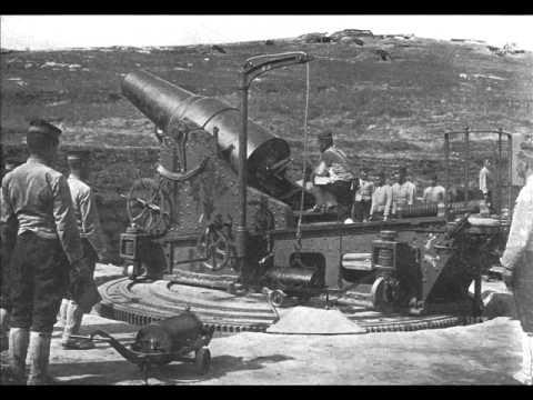 要塞砲兵の歌(重砲兵の歌)〈ボニー・ジャックス〉【明治軍歌】 - YouTube