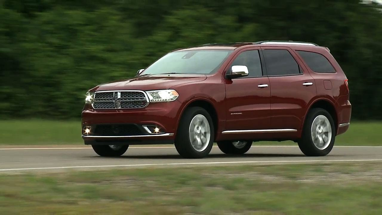 2016 Dodge Durango Running Footage
