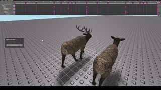 Elk walk cycle (roblox)