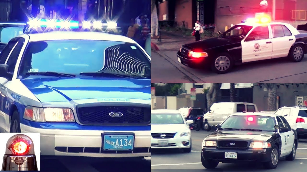 Compilation Of Ford Crown Victoria Police Interceptor Cars