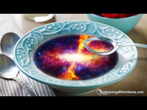 Quasars For Breakfast | Deep Pulsing Space Sounds for Sleep or Study | White Noise 10 Hours