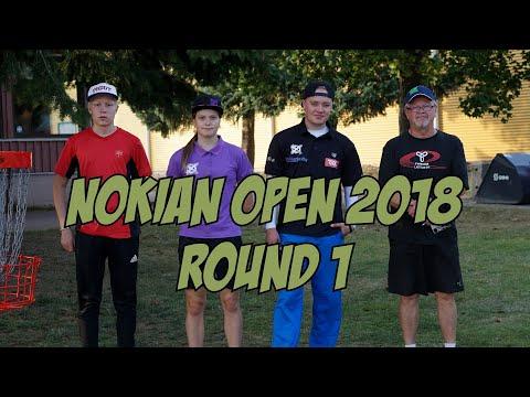 lcgm8 Disc Golf - Nokia Open 2018 Round 1