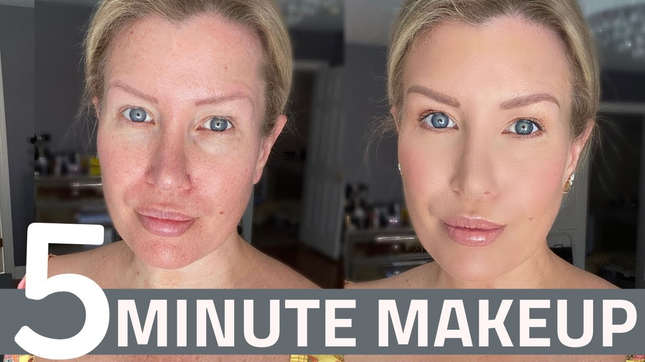 EASY 5 MINUTE EVERYDAY MAKEUP TUTORIAL | IN REAL TIME!