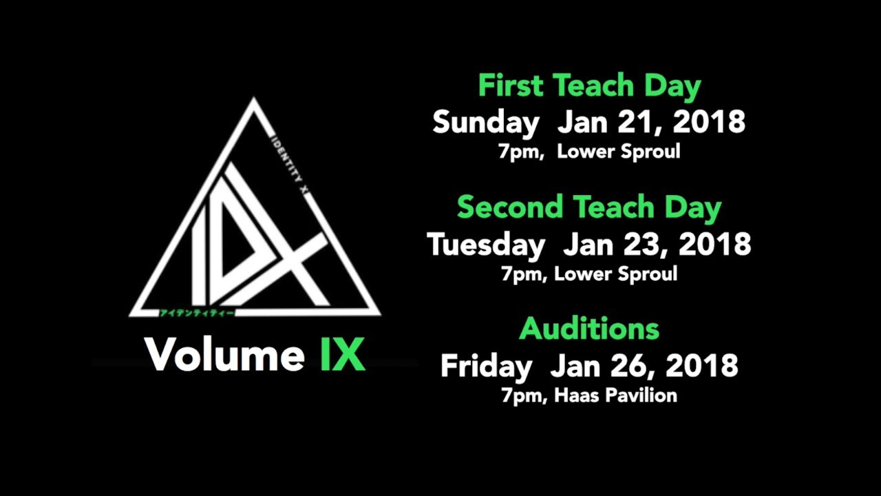 identity x spring '18 auditions - vol. 9 promo video - youtube