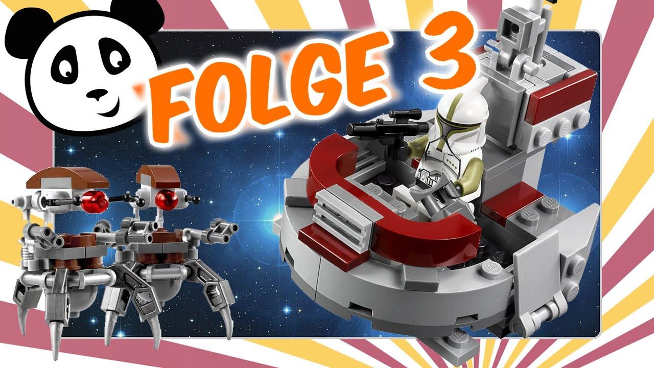 LEGO Star Wars deutsch - Angriff der Droidekas 3 - Pandido ...