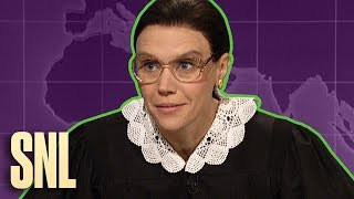 Weekend Update Rewind: Ruth Bader Ginsburg (Part 2 of 2) - SNL