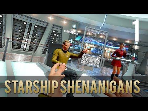 [1] Starship Shenanigans (Let's Play Star Trek: Bridge Crew w/ GaLm, Chilled, and Ze)