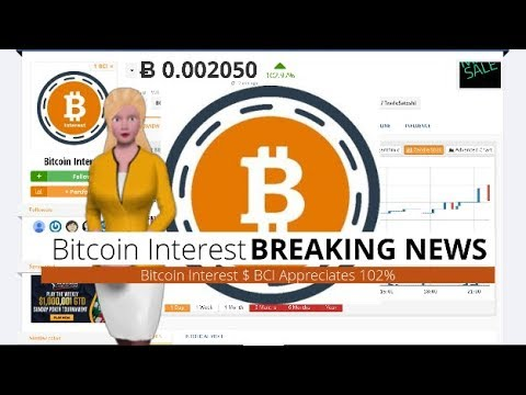 Bitcoin Interest $BCI Soars 102% In The Past Day