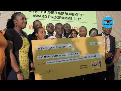 MTN Ghana Foundation awards scholarships to 20 teachers