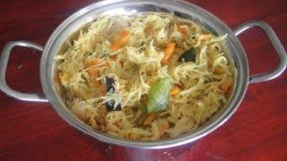 Semiya Uppma In Tamil | Vermicelli Uppma In Tamil | Non Sticky | சேமியா உப்புமா | Gowri Samayalarai