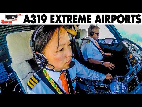 Piloting an Airbus between 2 EXTREME AIRPORTS | Paro Bhutan to Kathmandu Nepal