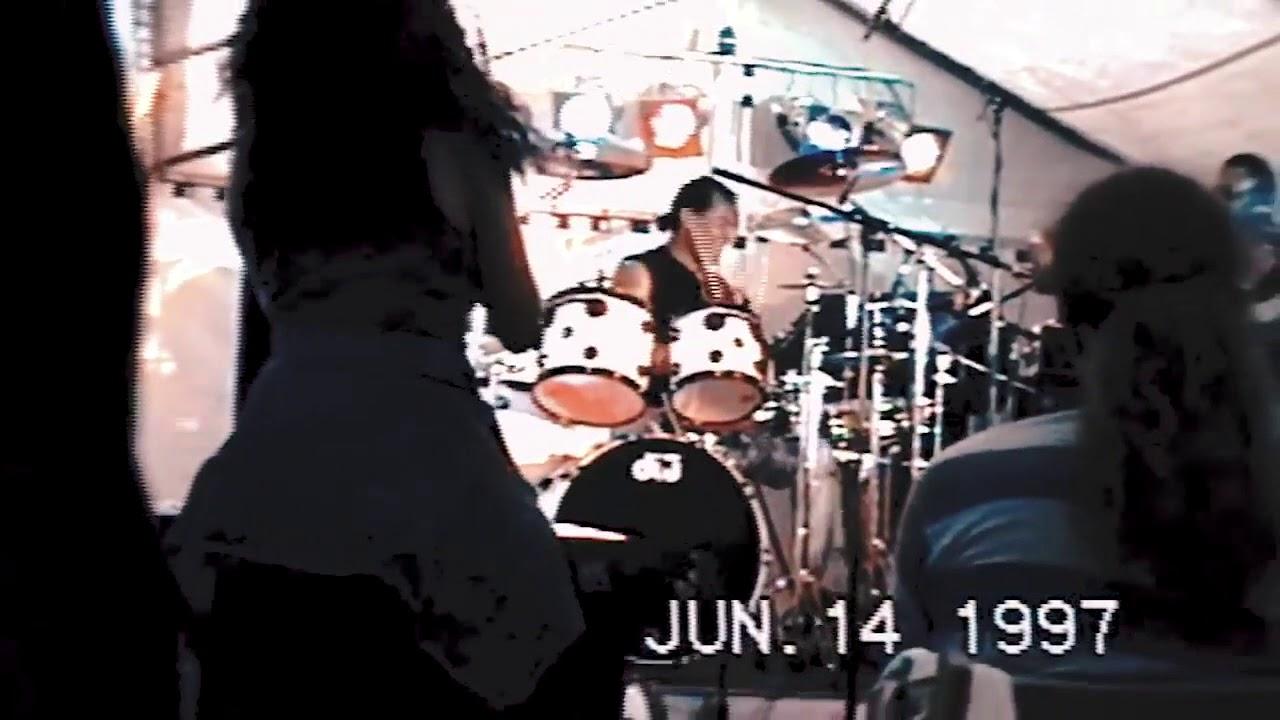 !!RARE!! Michael Jackson Drummer - Jonathan Moffett (Sugarfoot) Performing Smooth Criminal 1997