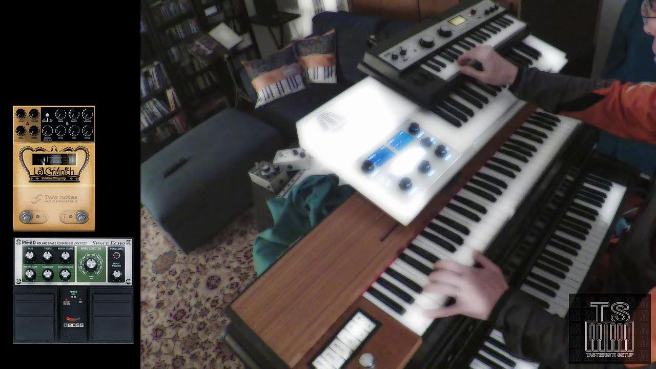 Clavinet, Mellotron and MicroKorg improvisation