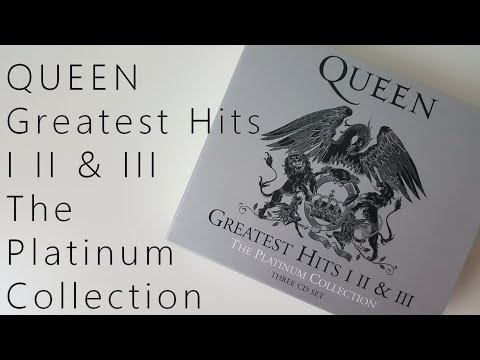 QUEEN Greatest Hits I II & III (The Platinum Collection) | Unboxing