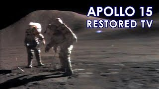 APOLLO 15 TV - EVA Activities (1971/07) [60 fps]