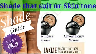Lakme Absolute Skin Natural Mousse Foundation Shade Guide with Complete Review Femstuff in Hindi