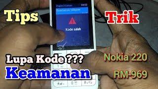 Cara Mudah Mengatasi Kode Pengaman HP Nokia Yang Lupa Password nya | Tutorial simple dari Anwar Aja.
