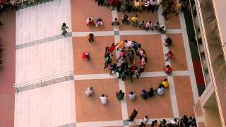 Flash Mob : ICC T20 World Cup 2014 - Southeast University @Basundhara City