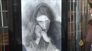 هذا الصباح-فنانة أفغانية تتحدى الإعاقة وترسم بفمها