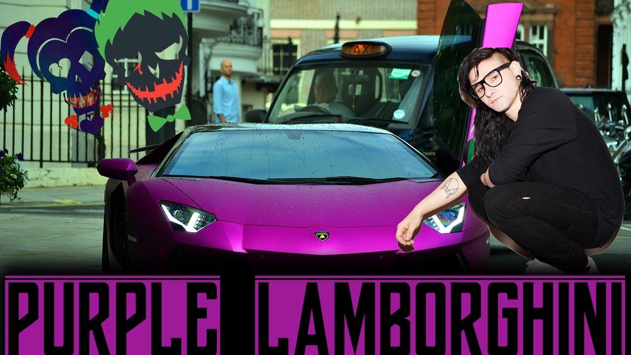 Purple Lamborghini Joker The Crew Youtube
