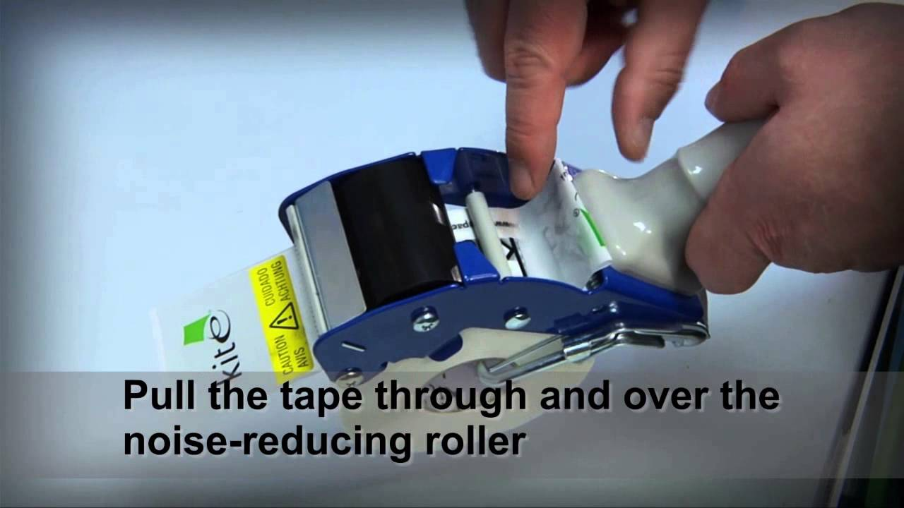 how to load and use our universal tape dispenser youtube