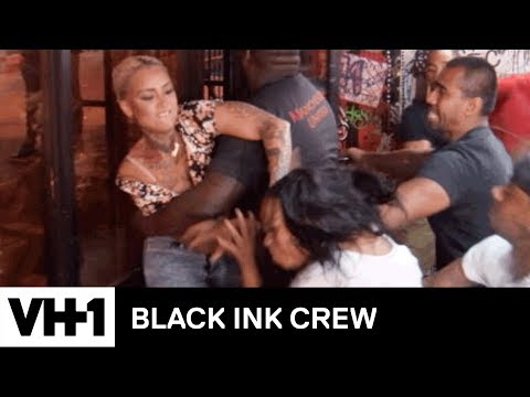 Donna Attacks Her Old Roommate | Black Ink Crew