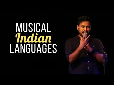 Musical Indian Languages - Abish Mathew Stand Up Comedy