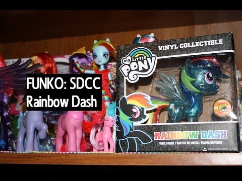 FUNKO: SDCC Exclusive Sparkle Rainbow Dash My Little Pony - Opening/Review