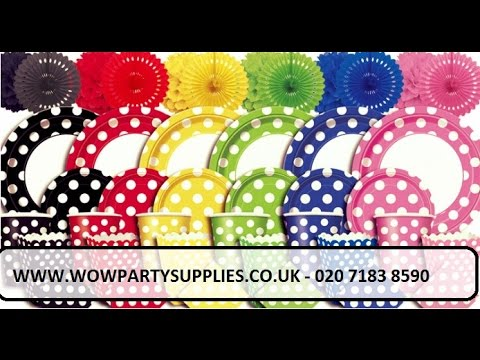Cheap Party Supplies Online | Party Decorations UK -  WOW PARTY SUPPLIES